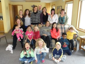 adoptive family group picture